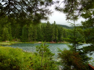Whistler: view of Lost Lake